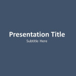 Topic Development PPT Template