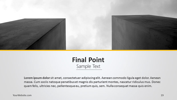 Our company powerpoint template slide ocean our company powerpoint template the template is a full presentation made for presenting a company profile it allows you to present all the information toneelgroepblik Images