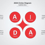Circles and Icons PowerPoint Diagram