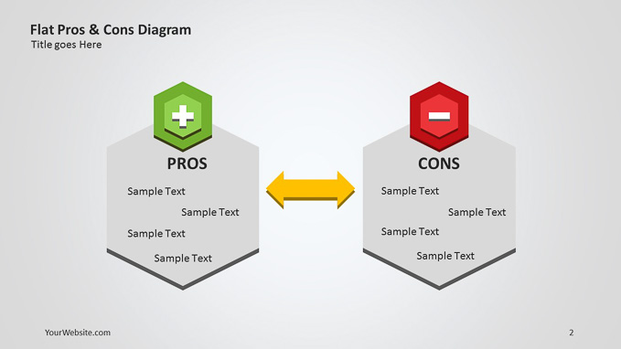 Flat pros and cons ppt diagram slide ocean flat pros and cons ppt diagram ccuart Gallery