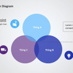 Two Parts PPT Venn Diagram