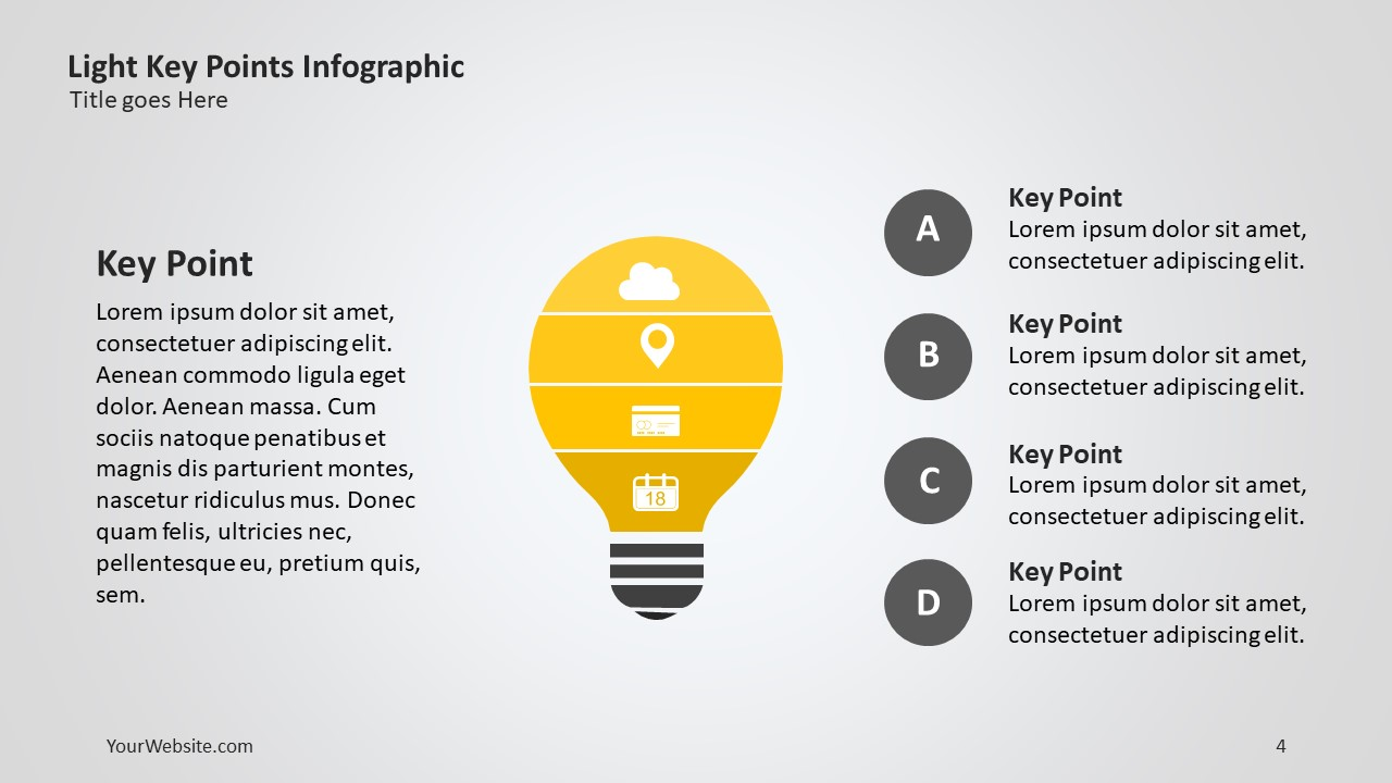 Key points ppt infographic slide ocean key points ppt infographic the template is very useful hen presenting information about a concept and the subconcepts that make up the whole the template toneelgroepblik Image collections