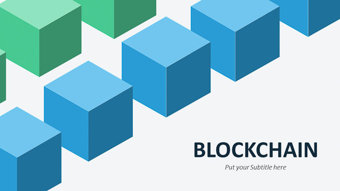 Blockchain Powerpoint Illustrations and Diagrams