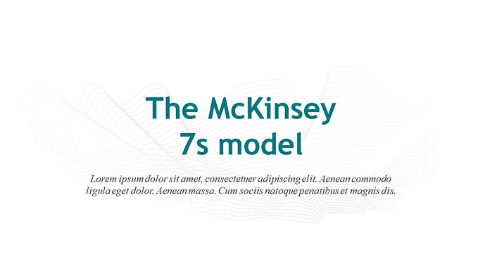 The mckinsey 7s model strategies slide ocean the mckinsey 7s model strategies ccuart Image collections