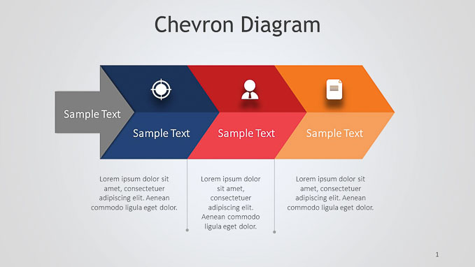 Chevron PPT Diagram