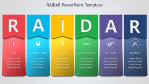 RAIDAR Diagram PowerPoint Template