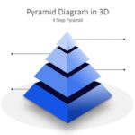 Multi-Step Pyramid Diagram PowerPoint Template