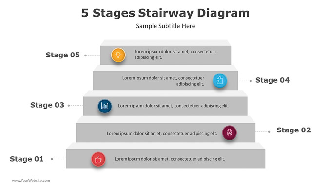 5-Stages-Stairway-Diagram-powerpoint