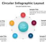 3 Nodes Cycle – Circular Diagram PowerPoint
